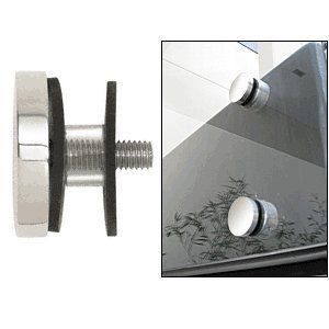 "CRL Polished Stainless 2"" Glass Rail Standoff Cap Assembly by CR Laurence by CR Laurence. $28.09. Color: Polished Stainless Diameter: 2 in (51 mm) Thread : 3/8""-16 Flat Cap for: RS0B20PS, RS0B2134PS For Use With RS0B20 and RS0B2134 Glass Rail Standoff Fittings 2"" (51 mm) Diameter Brushed or Polished 316 Grade Stainless Steel These heavy-duty CRL 2 inch (51 millimeter) Standoff Cap Assemblies work with glass rail standoff fittings. They are made from 316 grade stainle..."