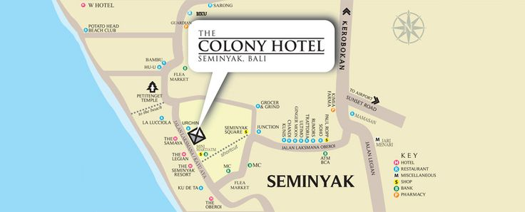 Colony Hotel Bali : seminyak bali hotels, boutique hotels bali