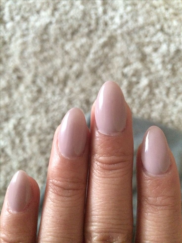 Mi amour gel polish but Perfect Match. Short almond nails