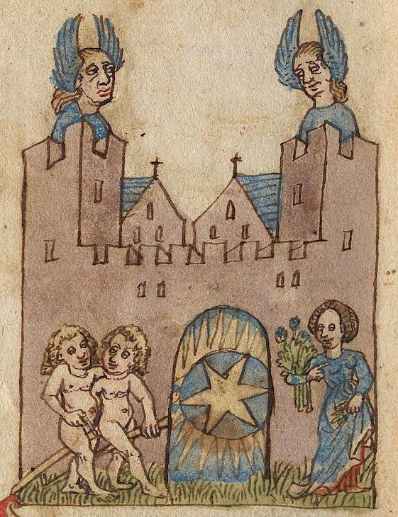 gorbutovich: Немецкий календарь-справочник 15 века