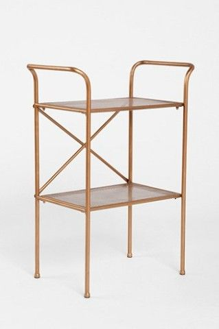 urban outfitters Tiered Metal table - record player stand
