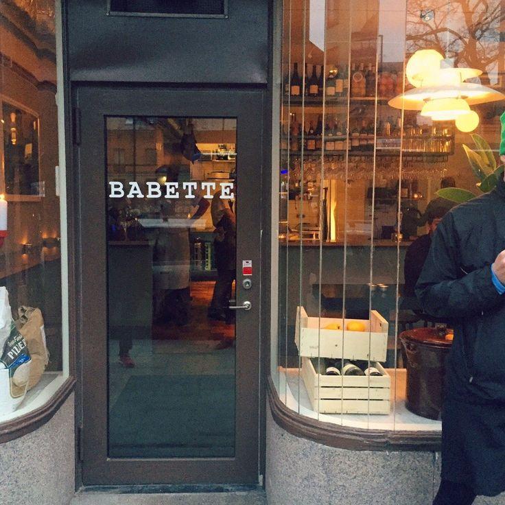 babette - that pizza!