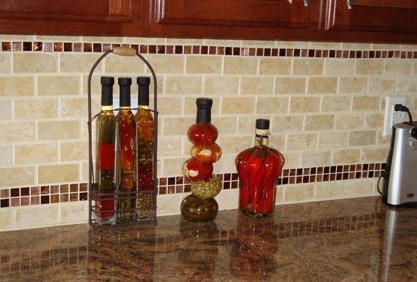 Red Kitchen Backsplash Ideas Cool Red Kitchen Backsplash Red Tile Backsplash Adds Zing To This