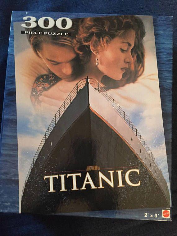 Vintage Puzzle Titanic 300 Pc Movie Poster Puzzle Large 2x3