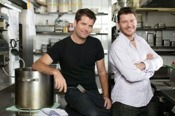 My Kitchen Rules Australia, great show and great presentation. Pete and Manu!