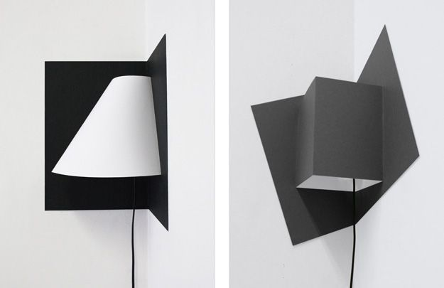 The Pop-up corner light by Well Well Designers — Clever