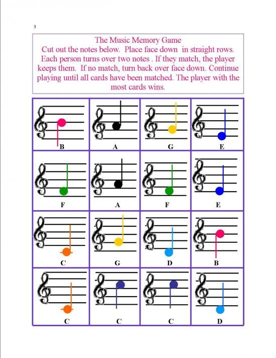 Music Worsheets and Games product from All-Musical-Matters on TeachersNotebook.com