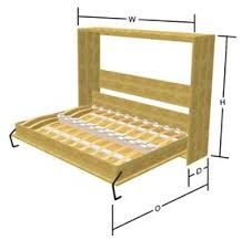 1000 id es sur le th me plans de lit escamotable sur pinterest lits escamotables et lits. Black Bedroom Furniture Sets. Home Design Ideas