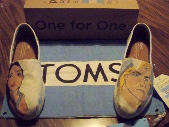 Pocahontas & John Smith Disney Toms