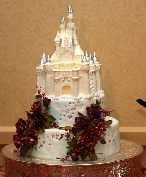 Disney Wedding Cake by ethel