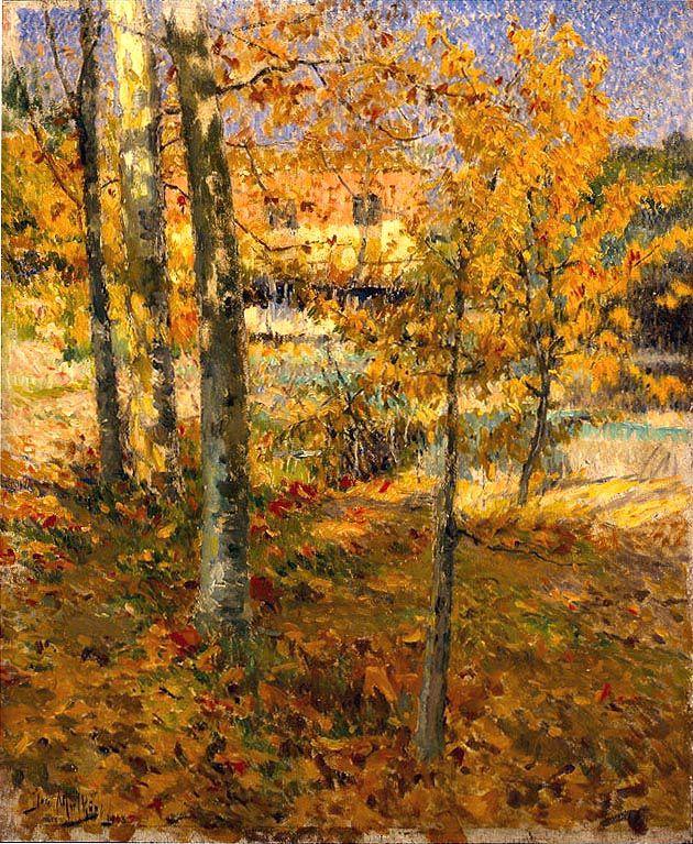 Autumn by José Malhoa (Portugal)