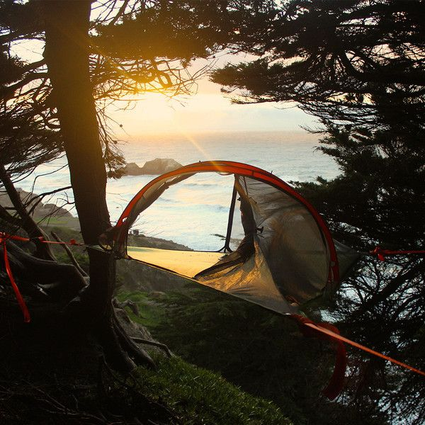 Discover the best way to camp above the ground with the Camo Tentsile Connect Tree Tent, $495.00 and FREE SHIPPING with Hammock Town.