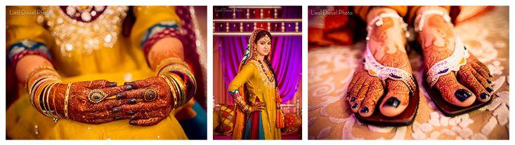 1-mendi-color-theme-fucia-hot-pink-orange-yellow-teal-gold-henna-tattoo-feet-hands-bride-portrait-muslim-mehndi-indian-ceremony