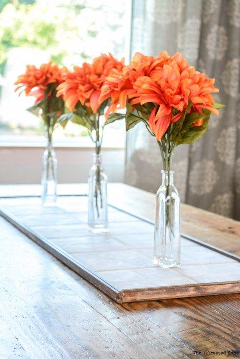 DIY Tile Centerpiece Your Best DIY Projects Pinterest