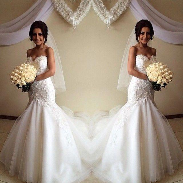 Love the wedding dress.