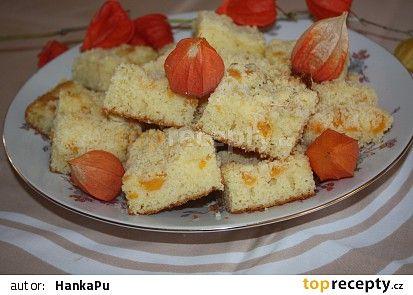 Andrejky ovocný koláč