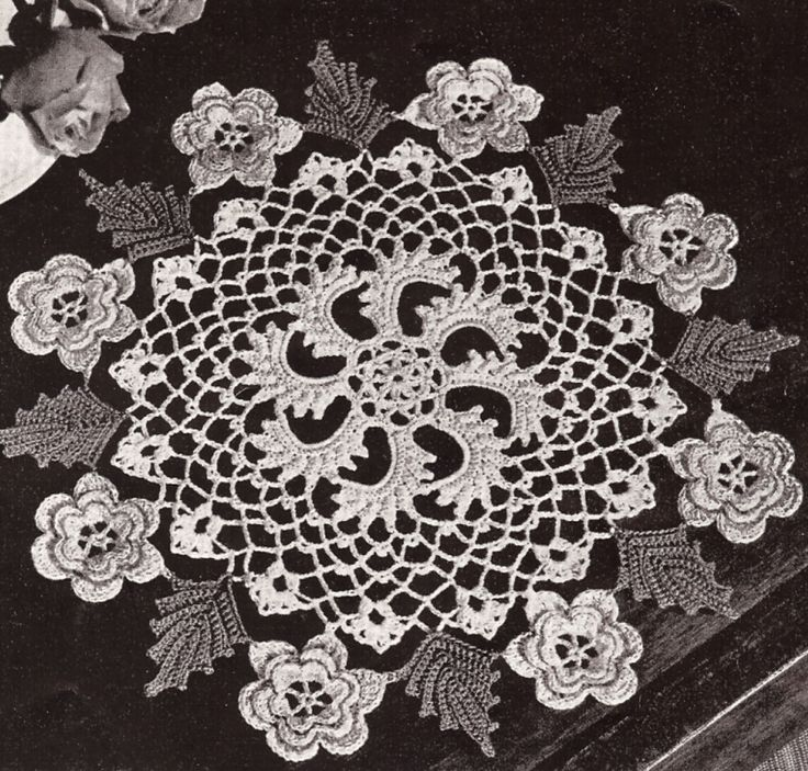 Irish Doilies Crochet Free Patterns : 17 Best images about Irish crochet lace on Pinterest ...