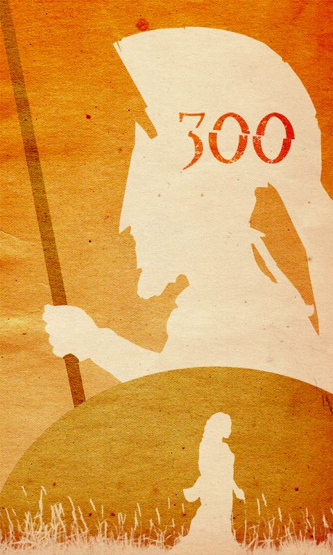 300 by Zack Snyder; I love this film more than is healthy. THIS IS SPARTAAAAAAAAAAAA!