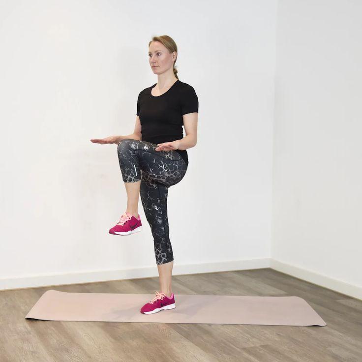 3-Minuten Express-Workout: Schlanke Beine Unsere R…