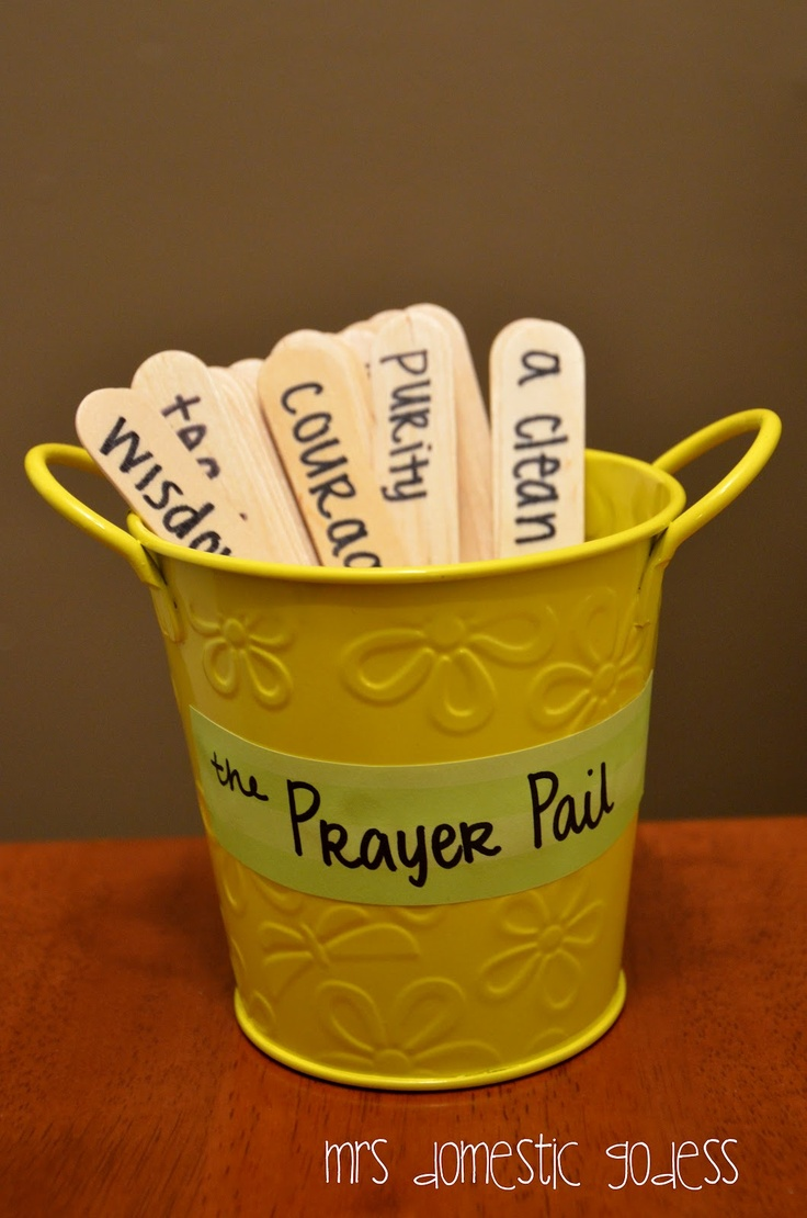 Mrs Domestic Goddess: Prayer Pail- For Young Adults