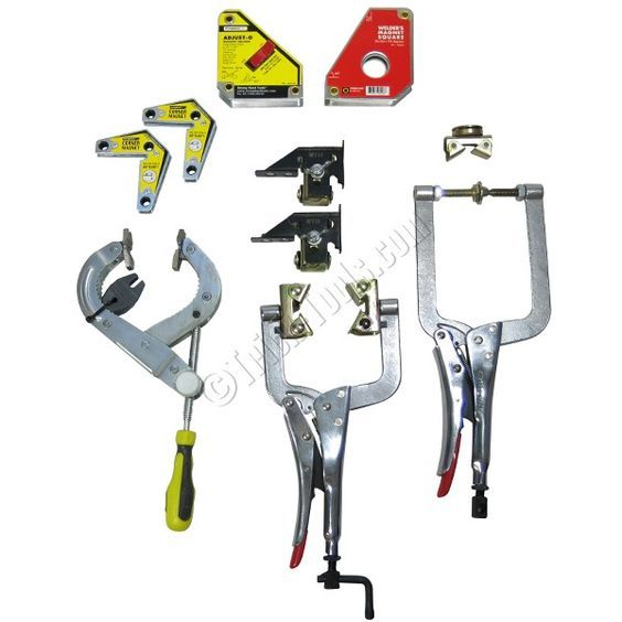 Trick Tools Welder's Survival Kit, Welding Clamps and Magnets, WSK: