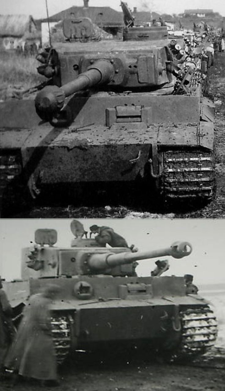 Тигр-1 из 503 тб Россия 1943 г.