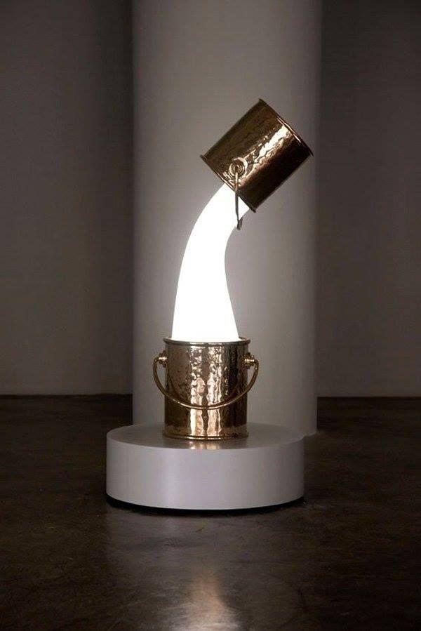 paint bucket lamp