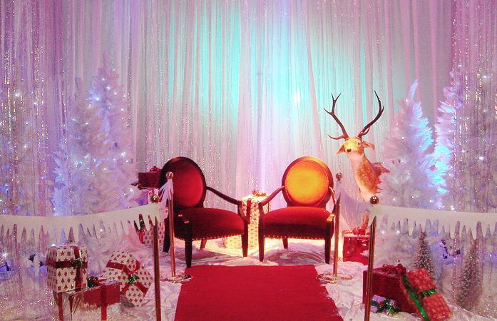 decorate christmas grotto - Google Search