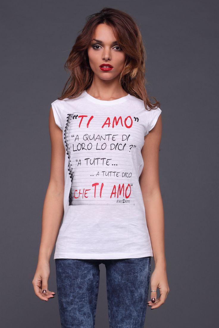 t-shirt lovely print