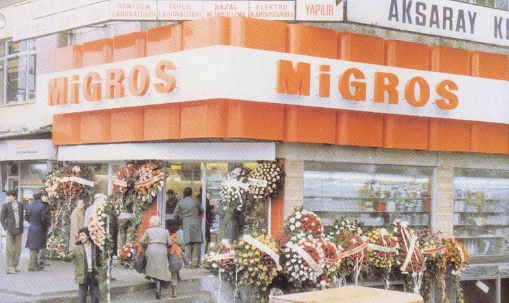 Aksaray Migros bir zamanlar...