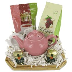 Purely Pink Tea Gift Basket  So pretty and what a great price!