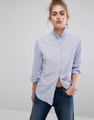 Рубашка бойфренда в полоску Levi's