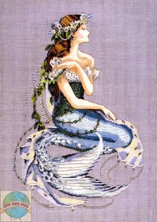 Enchanted Mermaid Counted Cross Stitch by Nora Corbett by yvonne