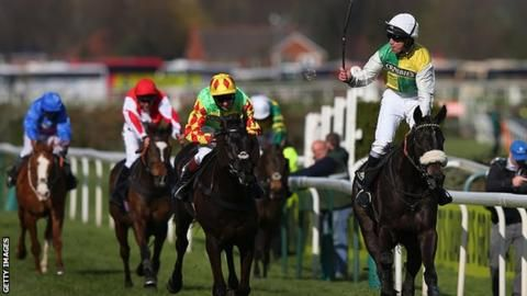 2016 Grand National: Aspell hails 'improving' Many Clouds
