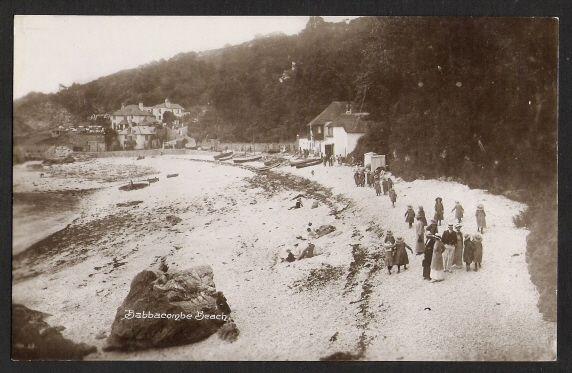 BABBACOMBE. Beach. Vintage.