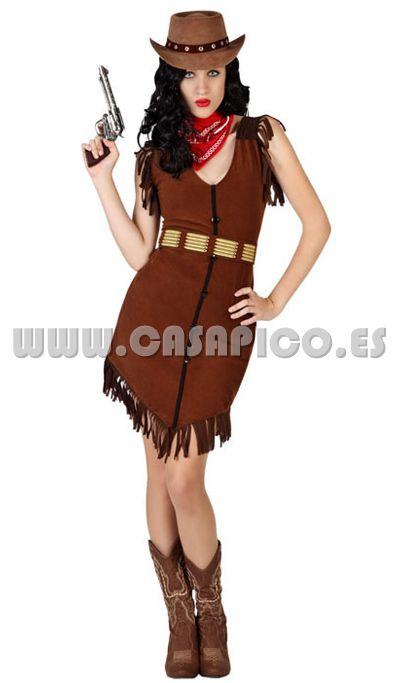 #disfraz de vaquera para mujer #casapico #disfracescasapico