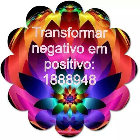 Transformation from negative to positive.