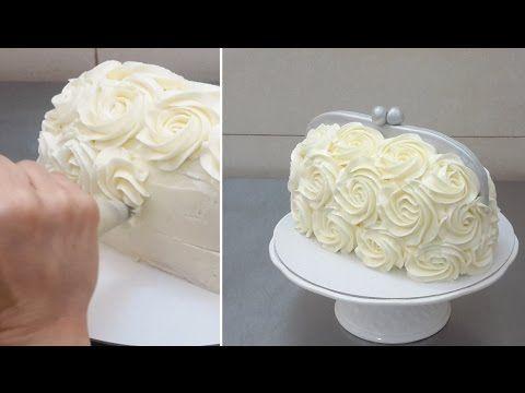 Handbag Buttercream Cake - How To by CakesStebyStep