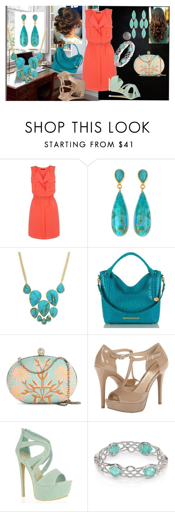 """""""Untitled #49"""" by lemcelfresh ❤ liked on Polyvore featuring Oasis, Dina Mackney, Jules Smith, Brahmin, Darling, Jessica Simpson, Quiz, Alexis Bittar, Kendra Scott and shirtdress"""