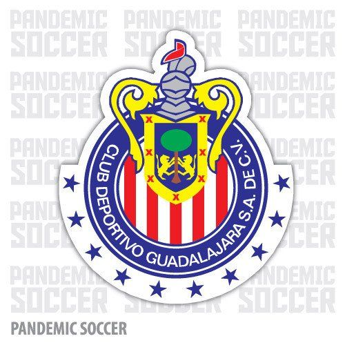 Chivas Guadalajara Mexico Vinyl Sticker Decal Calcomania