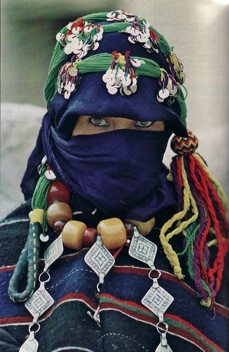 Amazigh meisje (Berberstam) Marokko