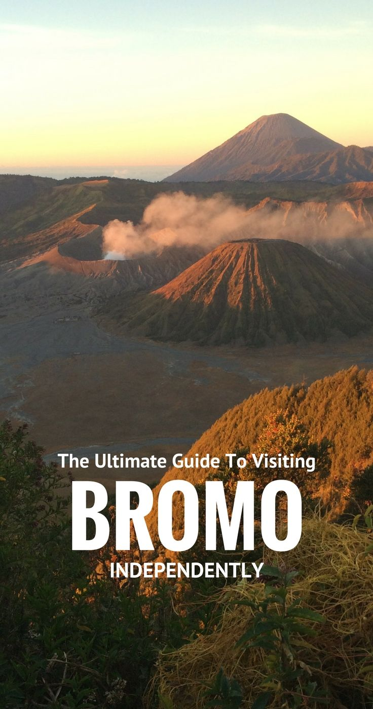 Ultimate Guide to Mount Bromo, Java, Indonesia without a tour. Get maps, prices, lists of Bromo Homestays and more. Find the hiking trail - and how to visit Gunung Bromo for FREE! #Indonesia #volcano #java #bromo