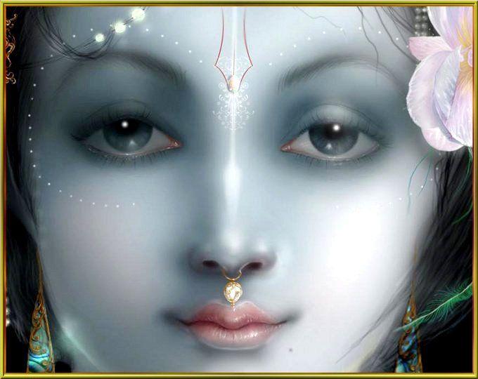 Sri Krsna Krishna - Digital Art by Tarun Kumar in Paintings at touchtalent 20736
