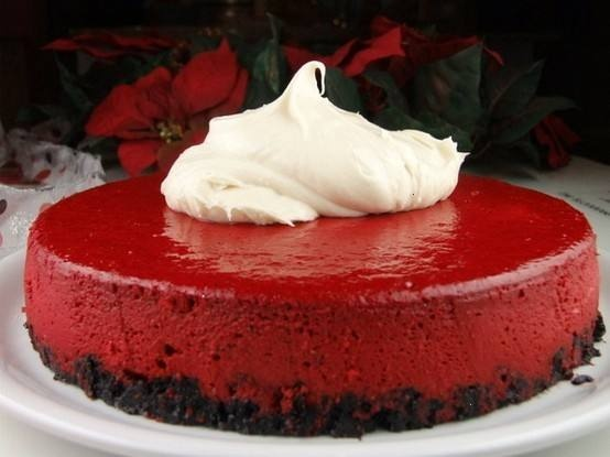 Red velvet cheeseake....why haven't I had this already!?!