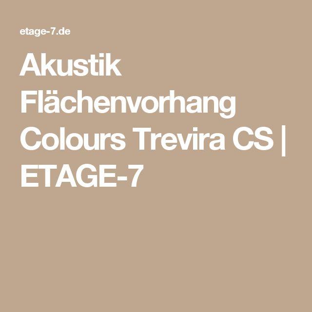Akustik Flächenvorhang Colours Trevira CS   ETAGE-7