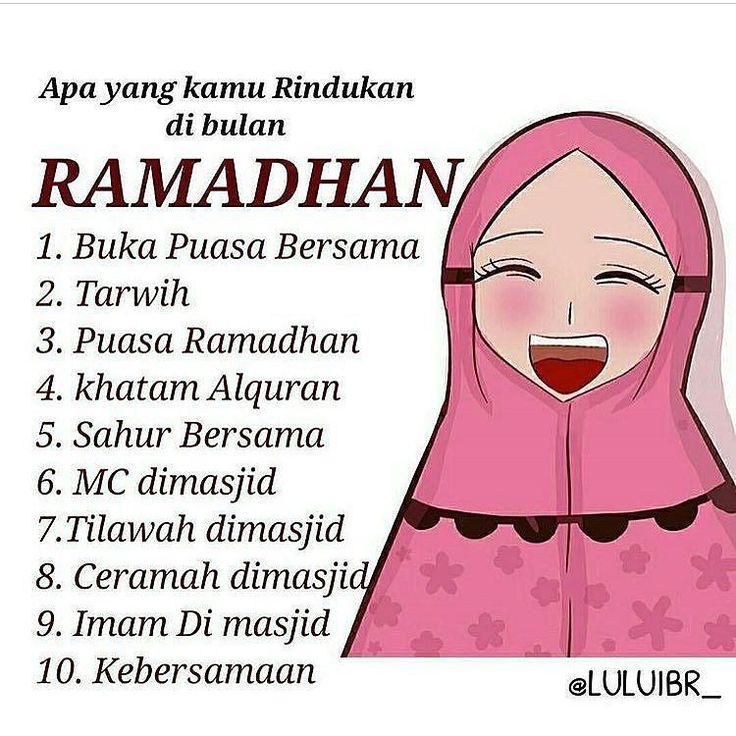 Nomer berapa yang kamu rindukan sahabat? . Insyaallah 2 minggu lagi ramadhan. Semoga kita dipertemukan dengan bulan ramadhan :) Aamiin Ya Allah :) .  Jangan Lupa Berbagi Ke anak Yatim ya  Follow @PesantrenYatim  Follow @PesantrenYatim  Follow @PesantrenYatim  http://ift.tt/2f12zSN