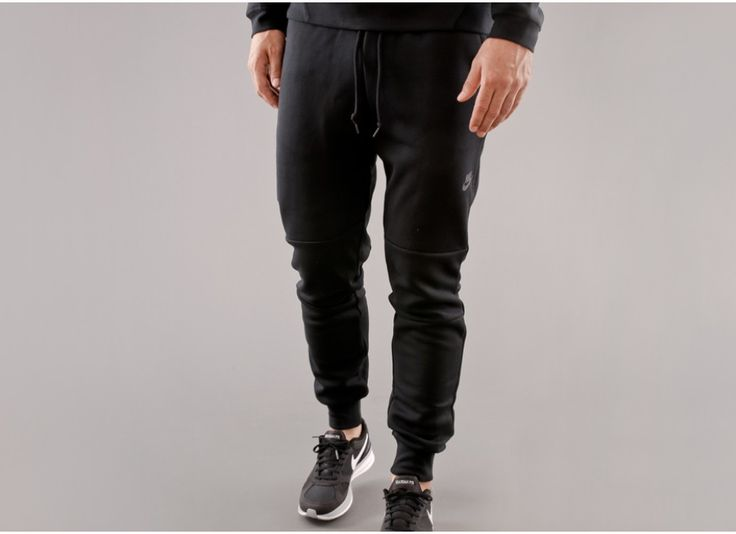 nike tech fleece pants black tech noir pinterest. Black Bedroom Furniture Sets. Home Design Ideas