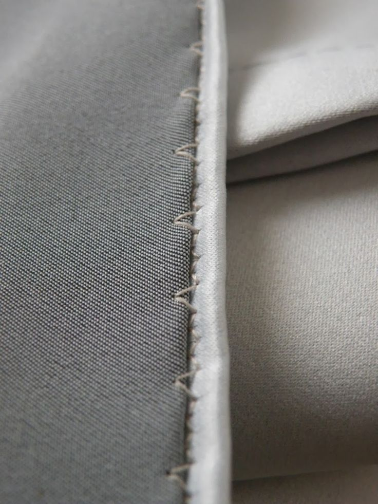 'invisible' hemming trick (with sewing machine)