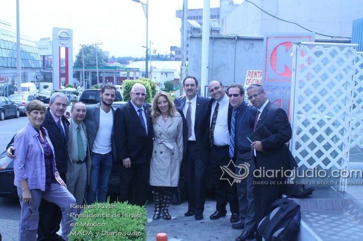 DiarioJudio.com y Magen David Adom México se unen a la celebración de la elección de Reuven Rivlin como nuevo Presidente de Israel   Comunidad