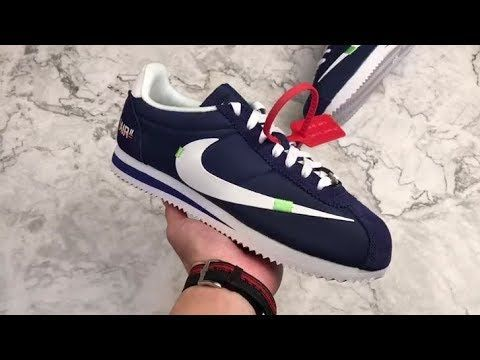 reputable site c9a43 0d638 Virgil Abloh Off-White x Nike Cortez Custom | Nike shoes ...